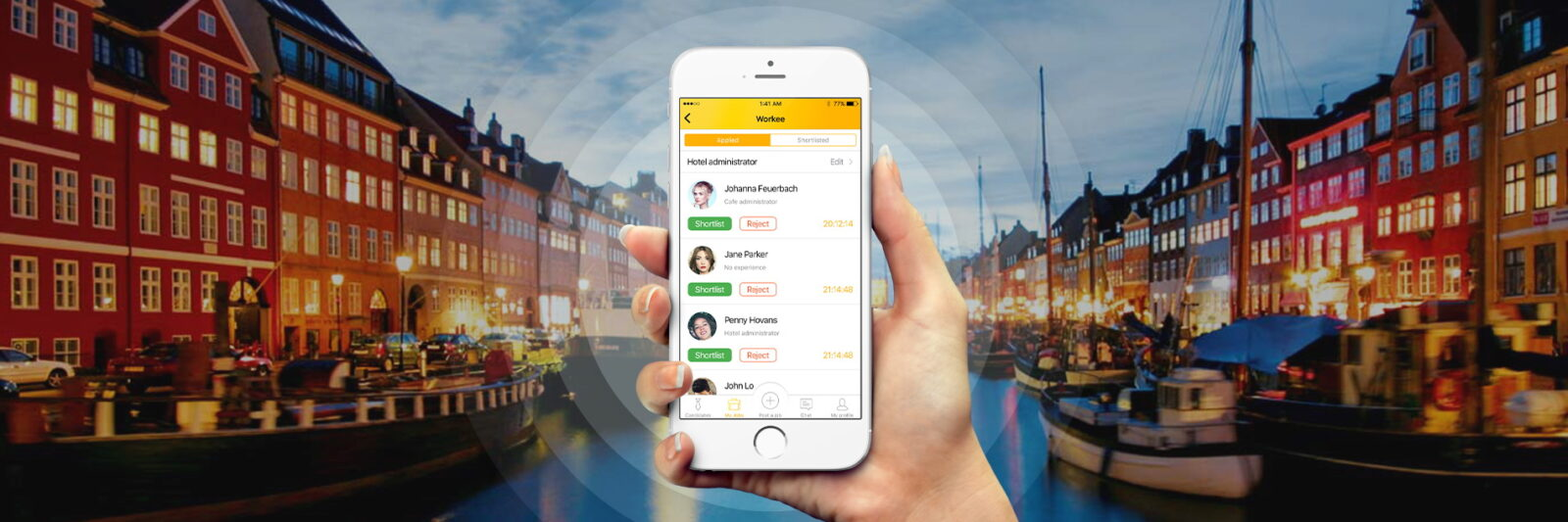 Workee Provides the Ability to Hire Hotel & Restaurant Staff in Hours