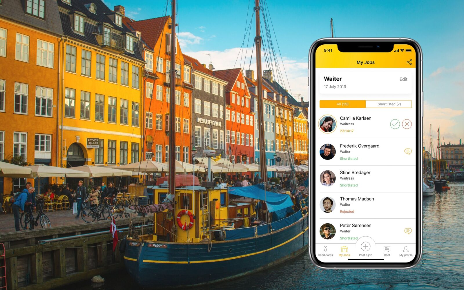 """Wow! It's Really Fast."" How a New App Changes the Recruiting Process in Denmark"