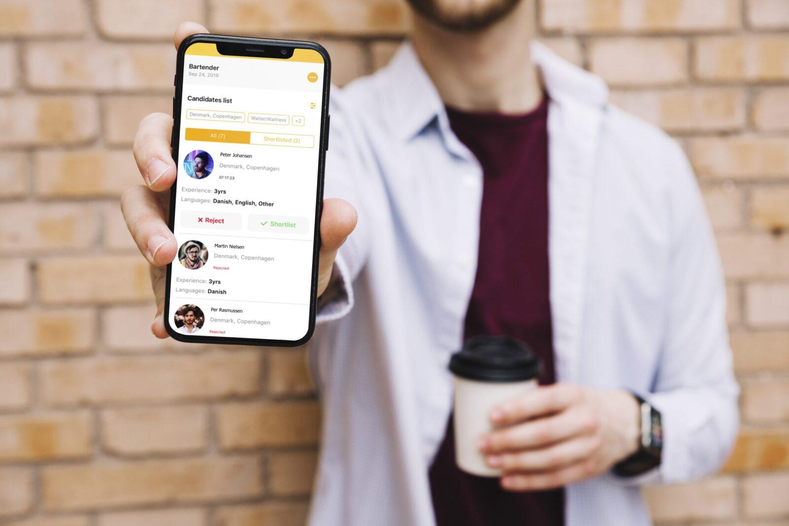 Ny kandidatsøgning med ny version af Workee-appen