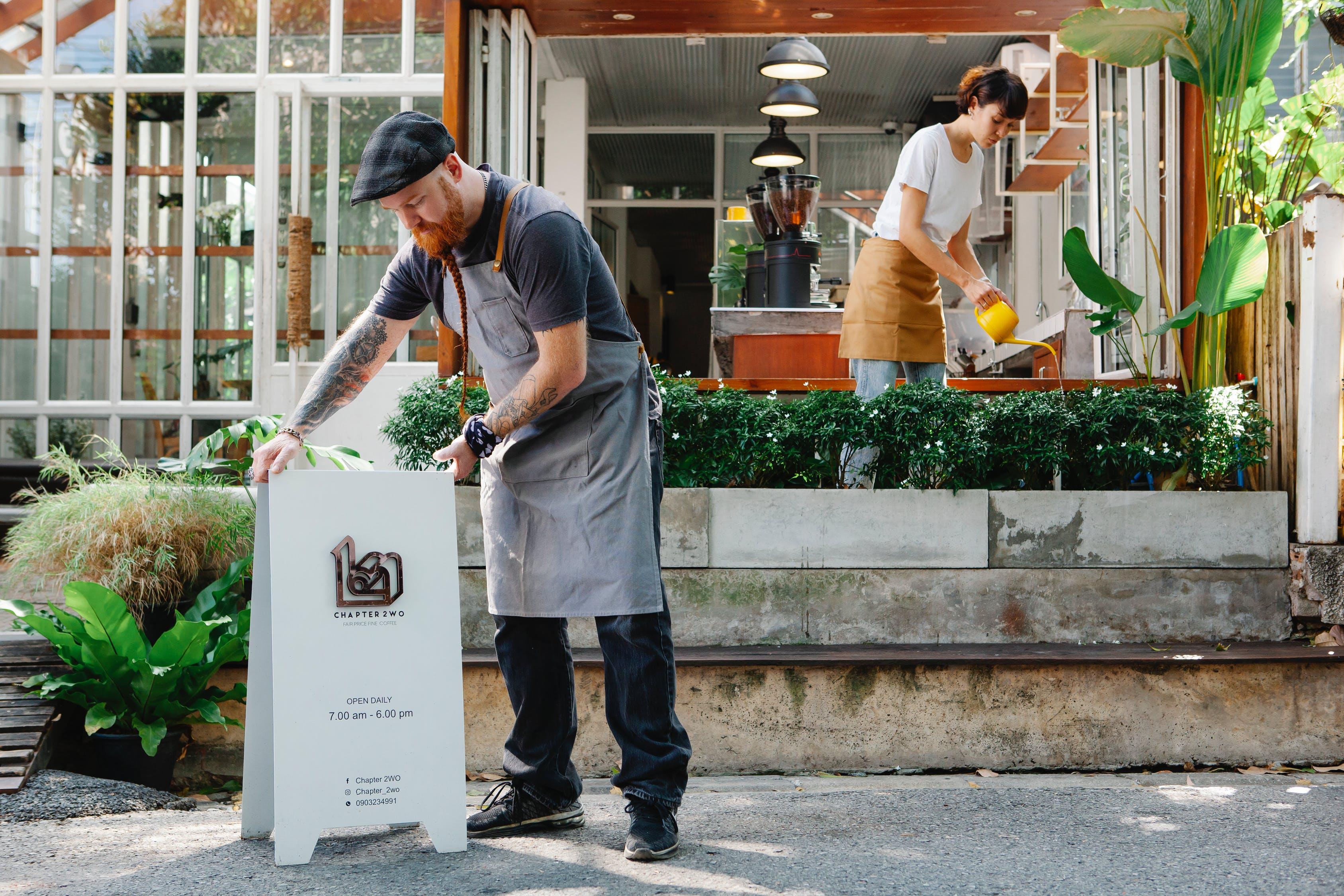 Den letteste måde at få et job på under genåbningen af Danmark